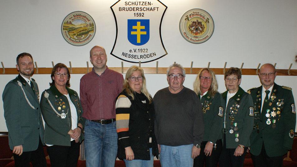 Engerer Vorstand Schützenbruderschaft Nesselröden 2019